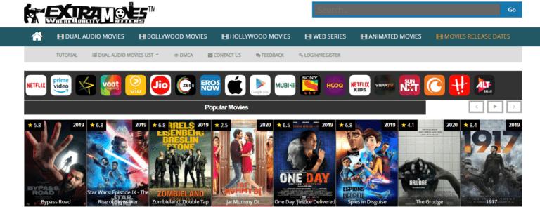 Step1. Visit The ExtraMovies Website-extramovies