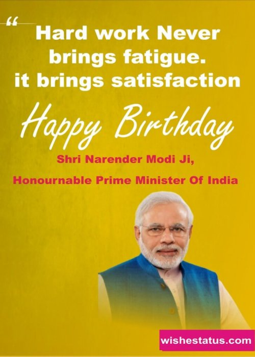 happy bithday wishes narendra modi ji